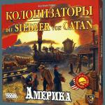 «Колонизаторы. Америка /De Kolonisten van Amerika». Тихая игра о Диком Западе.