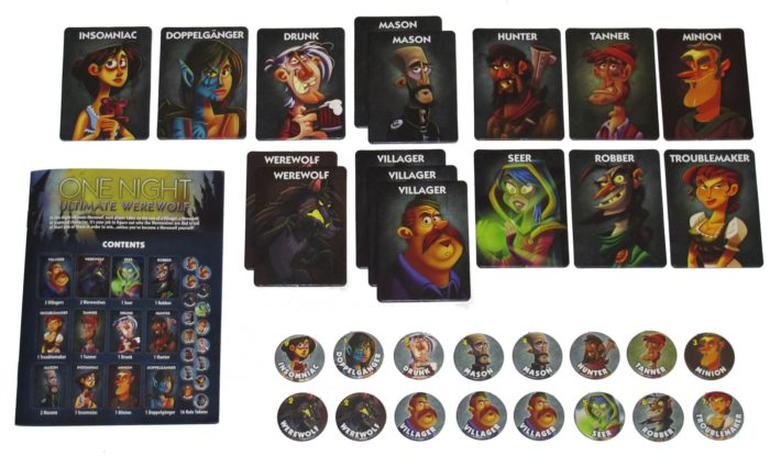 One night ultimate werewolf igra-nastolnaia-komplekt