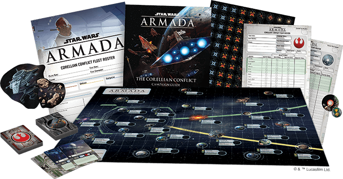 The Corellian Conflict Campaign Expansion-games