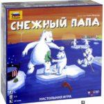 Снежный папа - настольная игра на новогодние праздники.