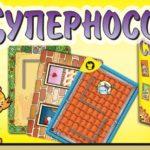 Суперносорог/ Rhino Hero - семейная, веселая настольная игра. /обзор