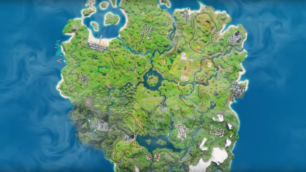 Новая карта Fortnite