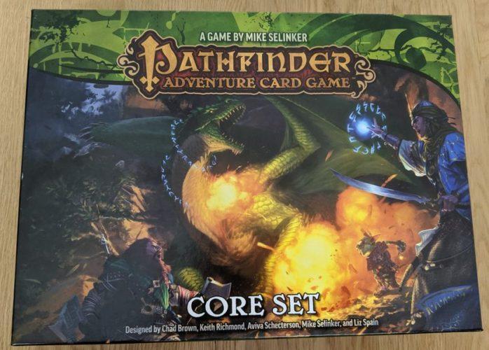 Описание сюжета Pathfinder: Карточная игра
